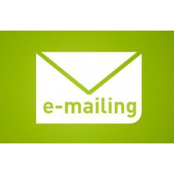 Crédits d'e-mailing pro